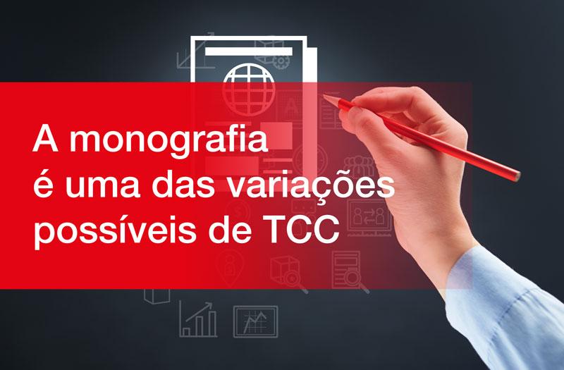 A monografia é uma das variações de TCC mais utilizados no meio acadêmico