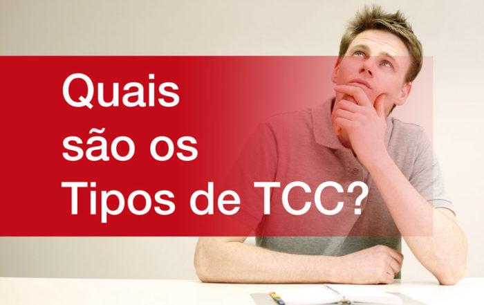 Quais os tipos de TCC