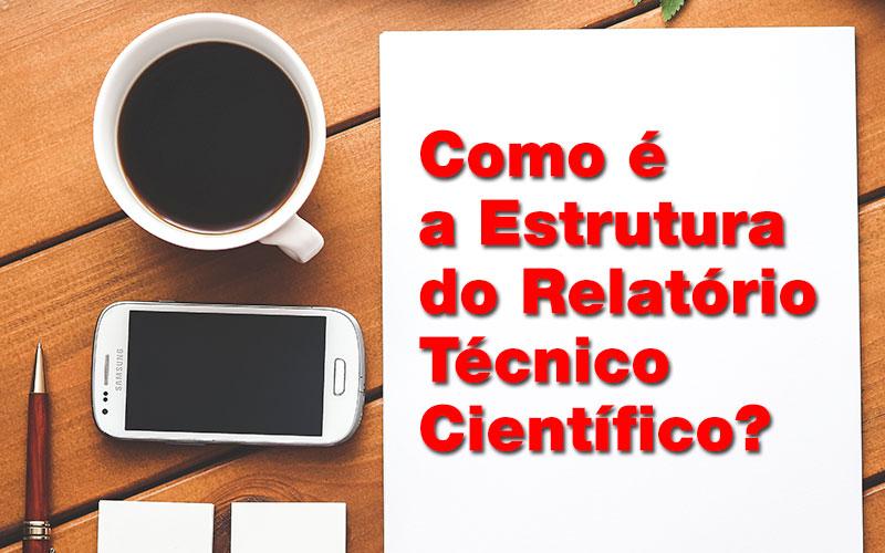 ABNT: Estrutura do relatório técnico científico