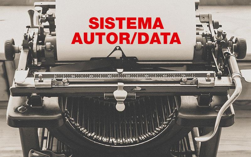 O que é e como usar o sistema autor data em pesquisas