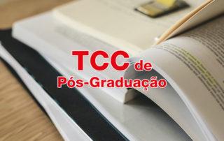 TCC para pós-graduação