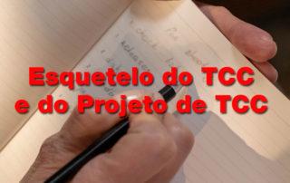 Esqueleto TCC e esqueleto de pré-projeto de TCC