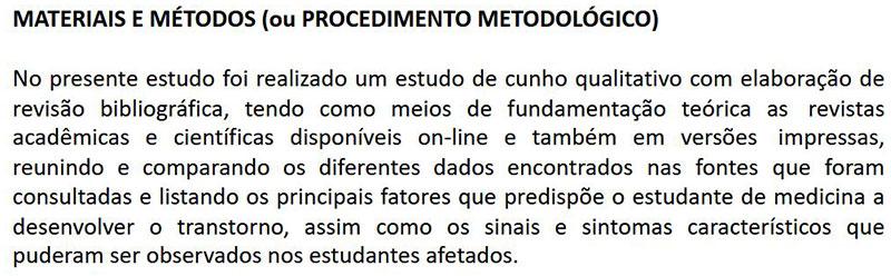 materiais e métodos - exemplo01