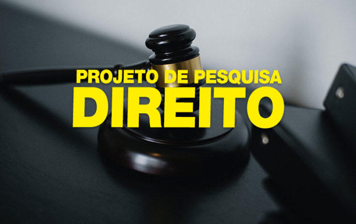 Projeto de Pesquisa Pronto em Direito